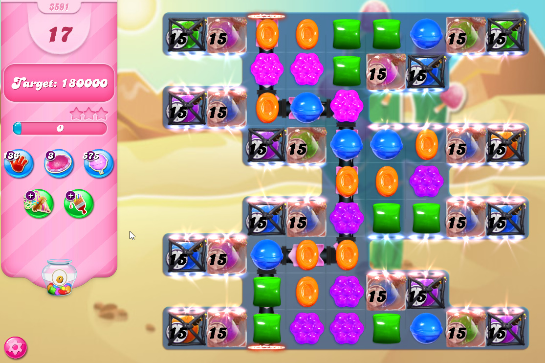 Candy Crush Saga level 3591