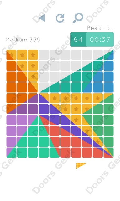 Cheats, Walkthrough for Blocks and Shapes Medium Level 339