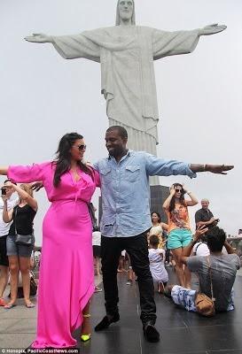 kimye vacation in brazil