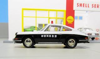 Tomica Limited Vintage LV-85a  Porsche  kanagawa police
