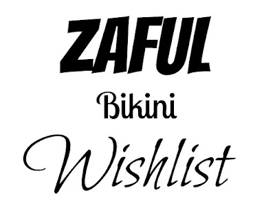 WISHLIST - ZAFUL BIKINI