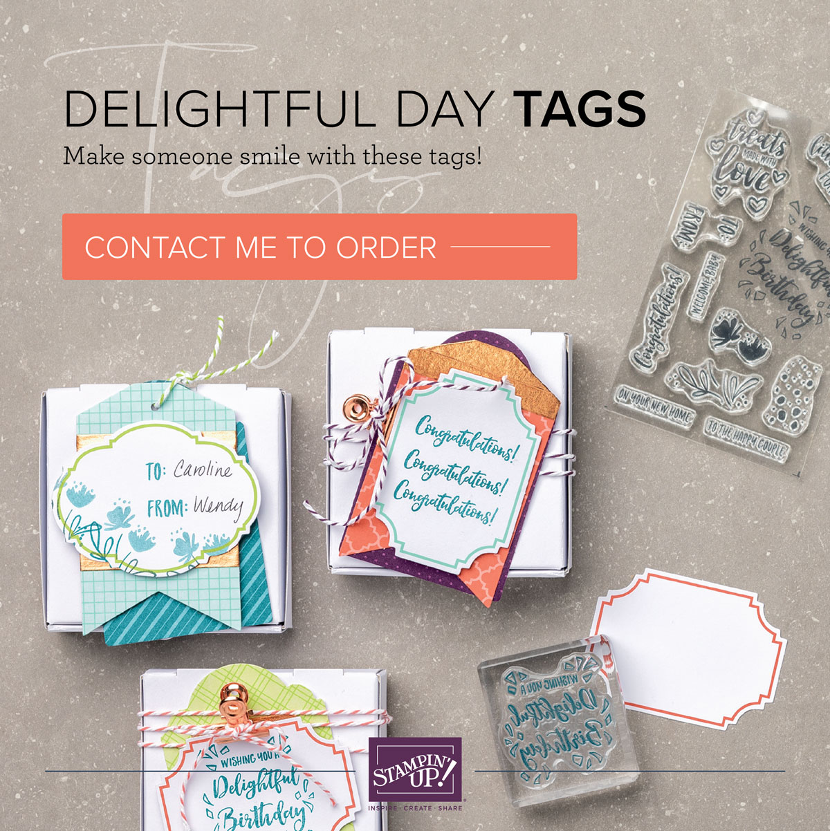 DELIGHTFUL DAY TAGS KIT
