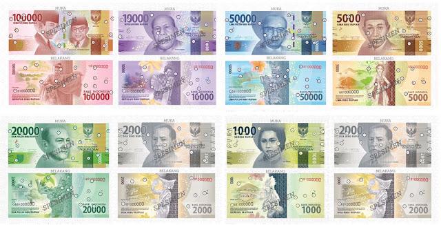 Uang baru keluaran BI