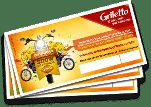 Promoção Griletto 2016