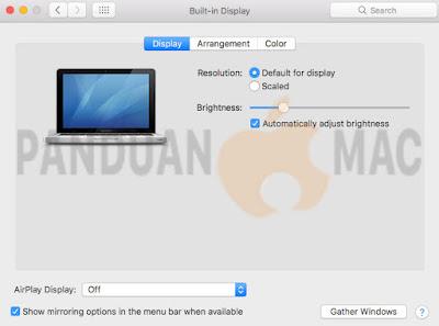 Cara Menghubungkan Mac ke LCD, Proyektor dan TV dengan Kabel Converter Mini DisplayPort to VGA untuk Presentasi
