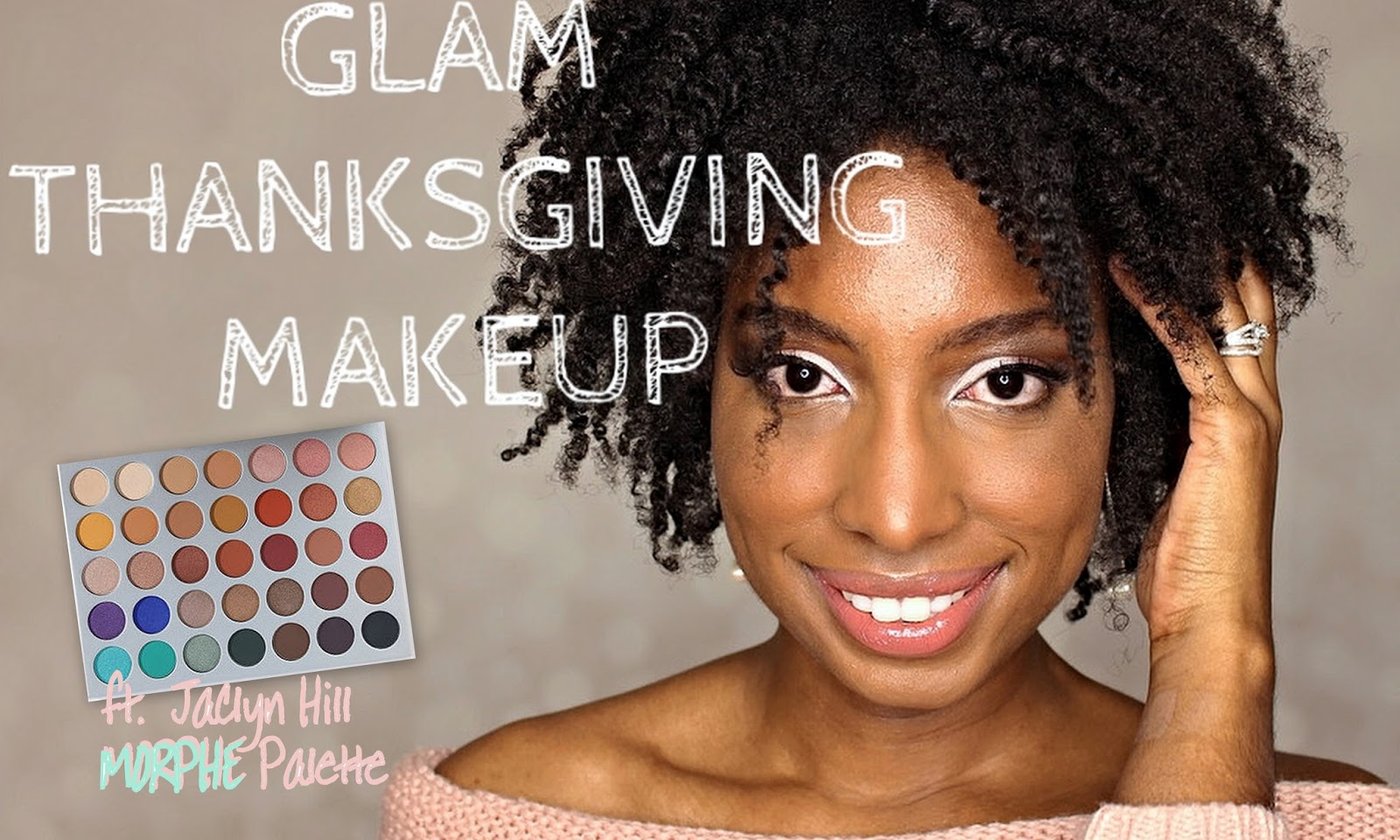 BEAUTY | Glam Makeup For Thanksgiving