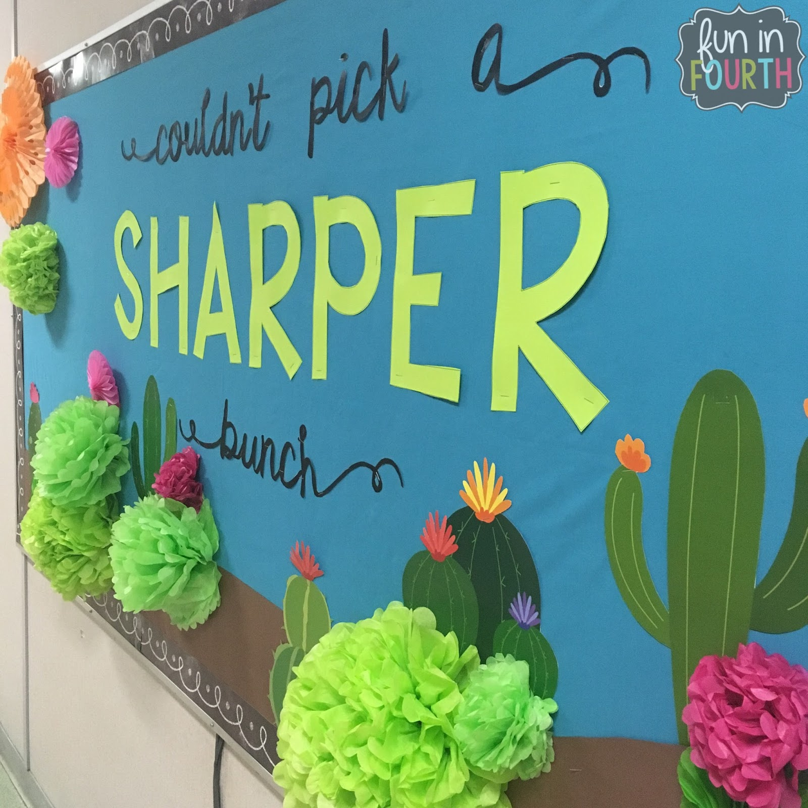 Classroom Decoration Cactus ~ Even more back to school bulletin boards fun in fourth
