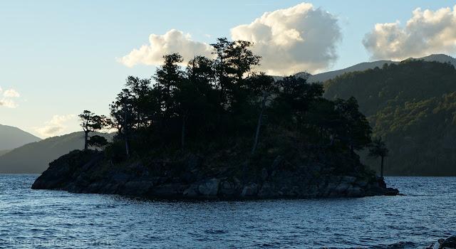 La Islita, Lago Lacar
