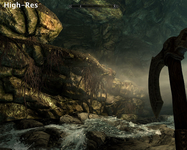 Parche High Resolution Texture Pack The Elder Scrolls V