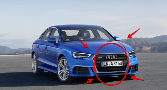 Audi A3 diesel fails for sale Dealer in eroupe