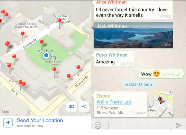 Cara Berbagi Lokasi di WhatsApp dengan Mudah 2