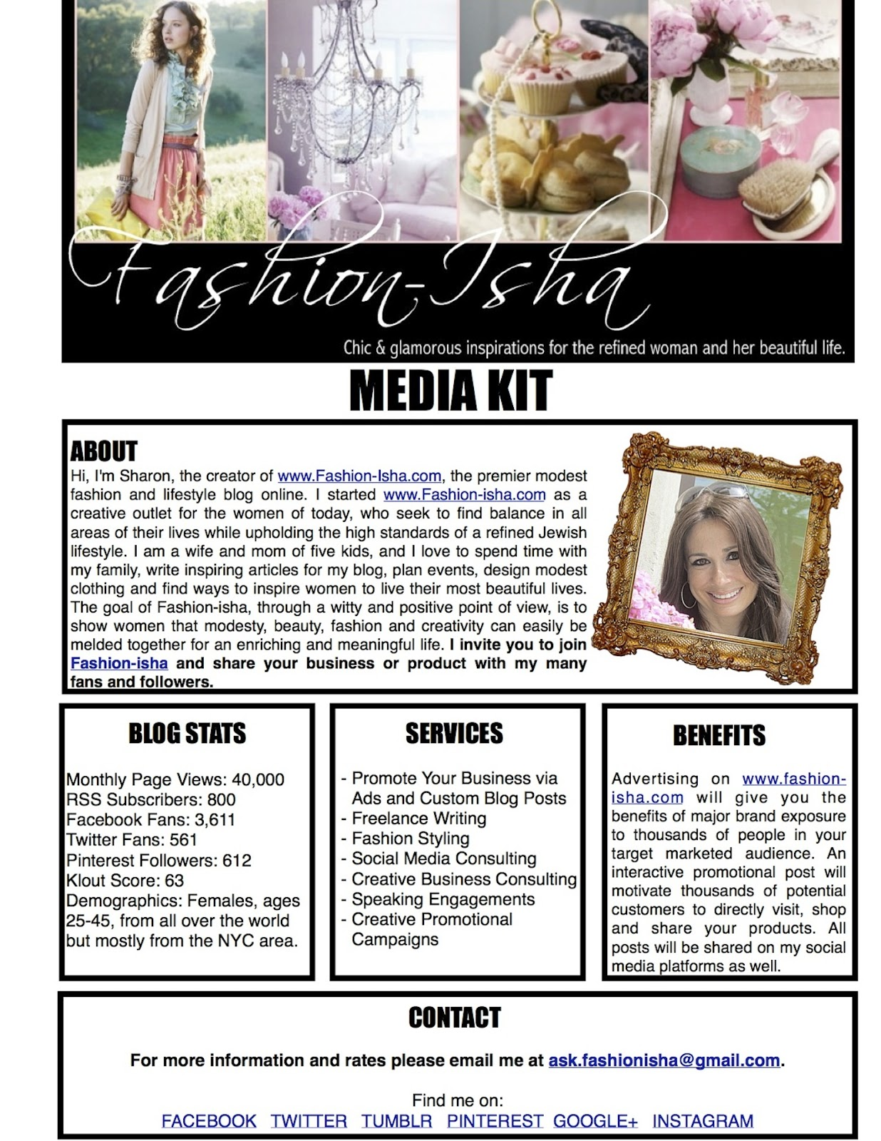 My media kit let me help you promote your business for Press pack template