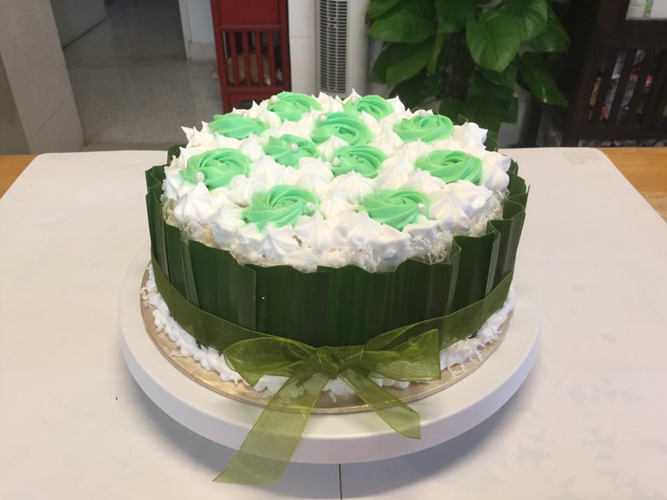 Durian Ondeh Ondeh Gula Melaka Cake Baking S Corner Workshop