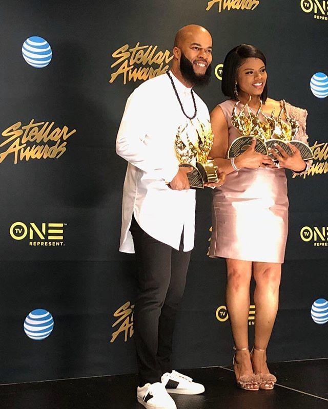 JJ Hairston Stellar Awards. gospel redefined. Triana Hairston
