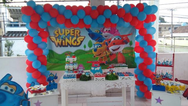 Festa Super Wings Inspirações para festa com tema Super Wings