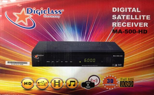 فلاش سوفتوير لجهاز الاستقبال Digiclass MA-500-HD 2016 ب خاصية CAS,فلاش سوفتوير ,لجهاز الاستقبال, Digiclass MA-500-HD ,2016 ب خاصية ,CAS,