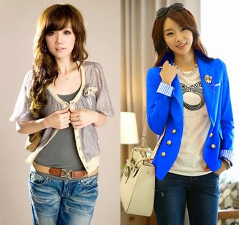 gambar model baju korea wanita remaja 2016