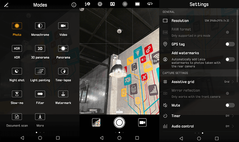 Huawei's robust camera software