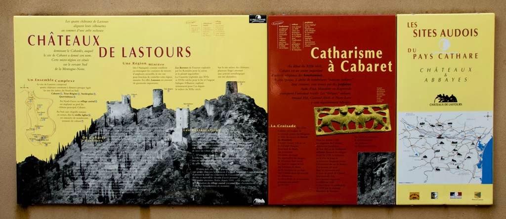 Los castillos de Lastours visita