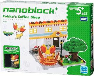 nanoblock+ Fennekin's Coffe Shop