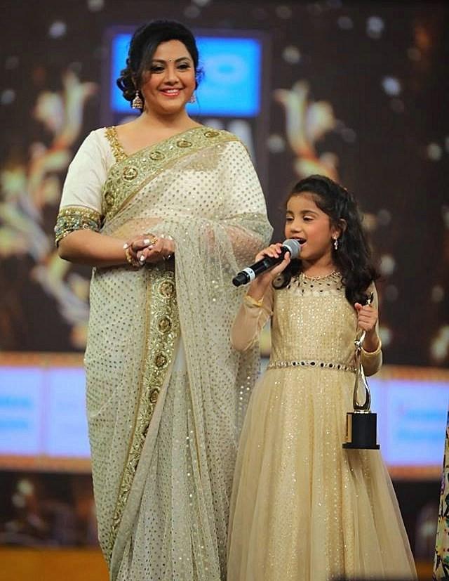 Actress Meena Photos At SIIMA Awards 2017
