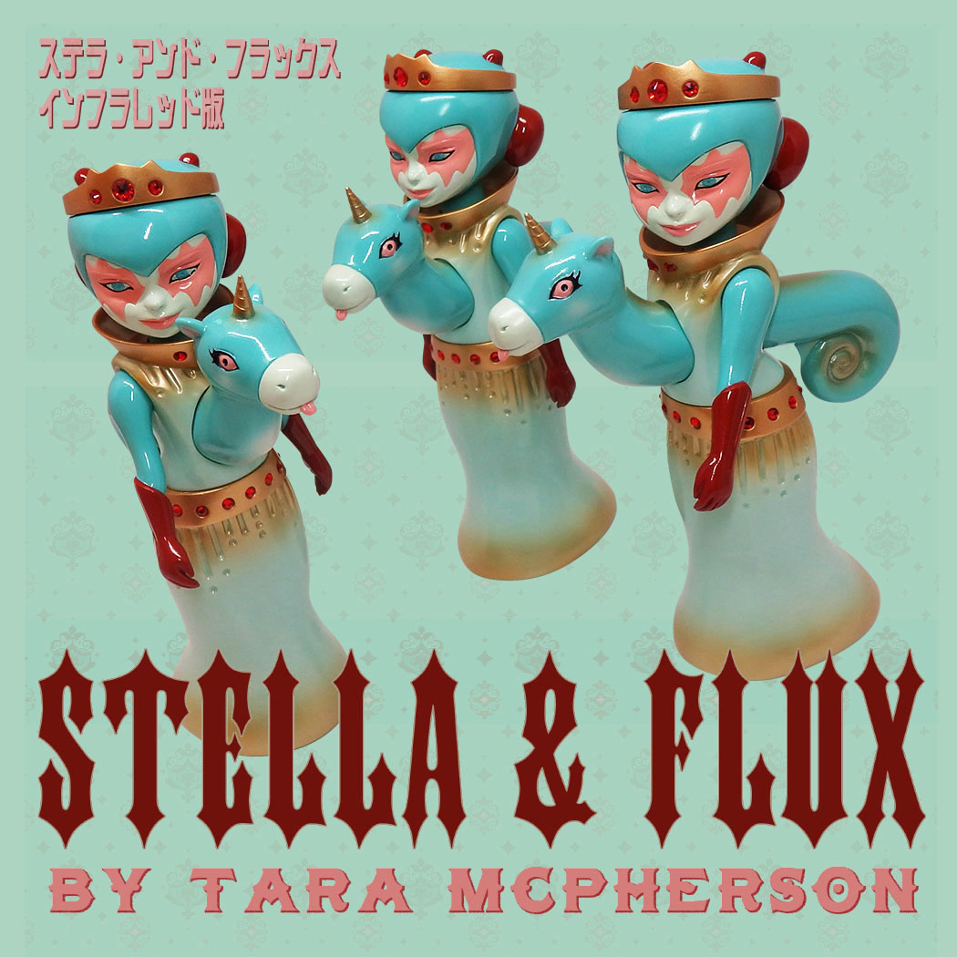 Tara McPherson s STELLA AND FLUX Infrared Edition for Feb 28th Release e8c687cc28e37