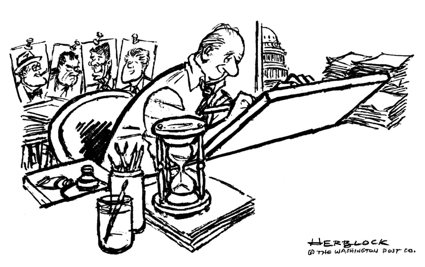 Bado's blog: The Golden Age for Editorial Cartoonists is Over