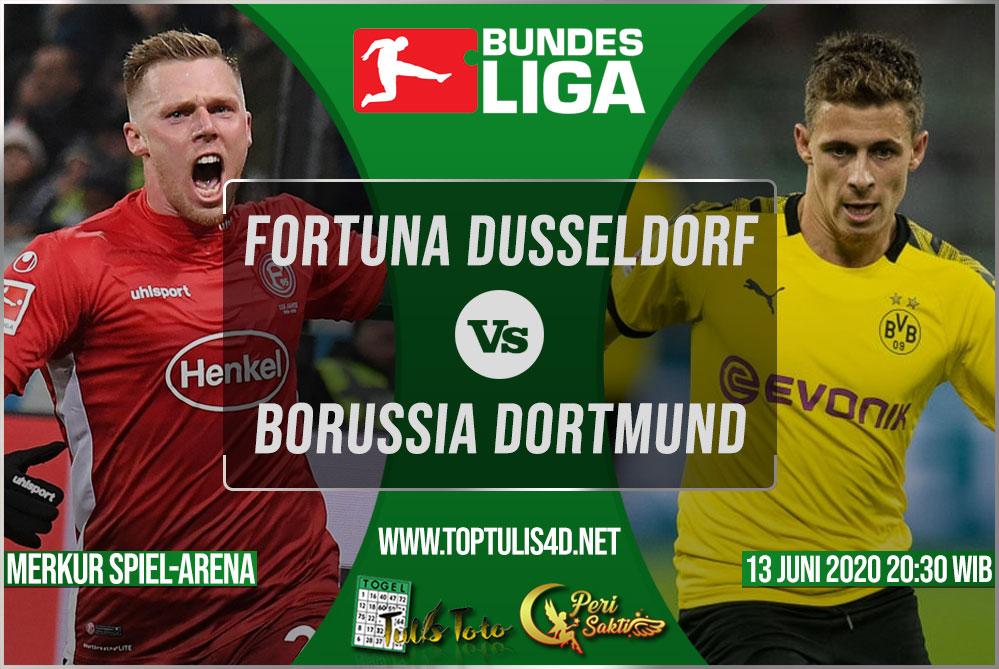 Prediksi Fortuna Dusseldorf vs Borussia Dortmund 13 Juni 2020