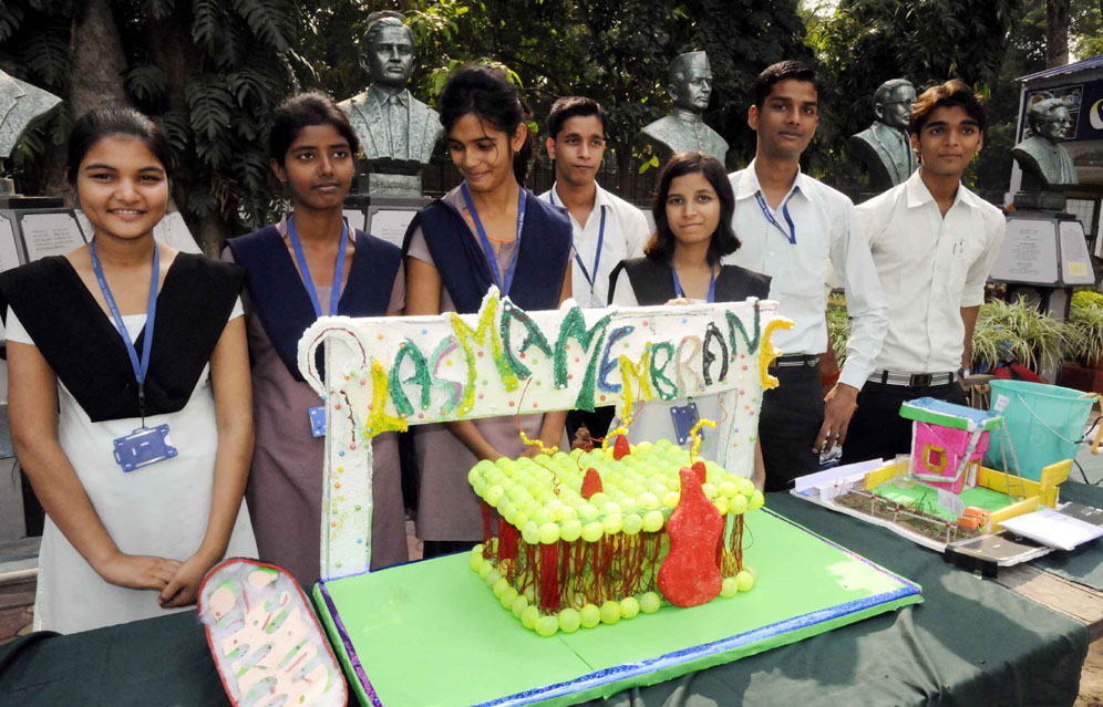 View Patna: Students show science acumen through models