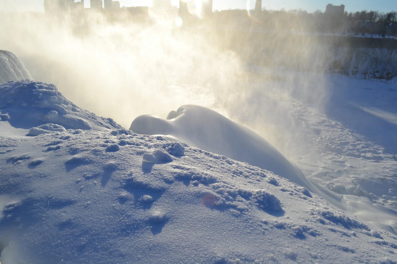 Замерзшая Ниагара, Нью Йорк (Niagara Falls, NY)