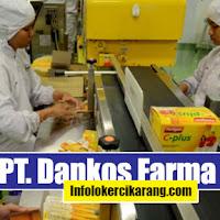 Lowongan Kerja PT Dankos Farma Pulogadung 2020