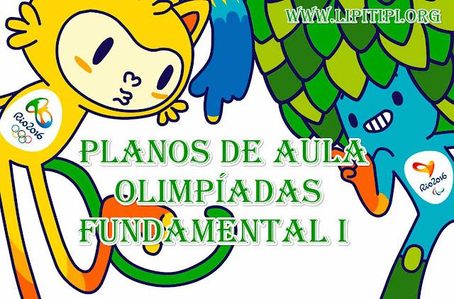 Coletânea com Planos de Aula sobre Olimpíadas para turmas de Fundamental I