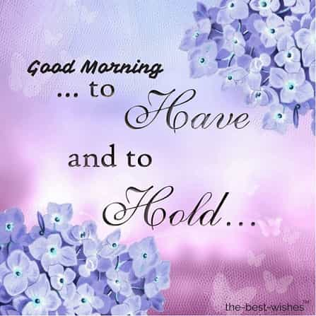 good morning quote with text calligraphy pink lilac images