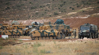 Turkish Occupying Troops in Syrian Territories