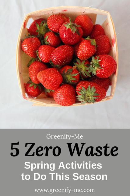 zero waste spring activities