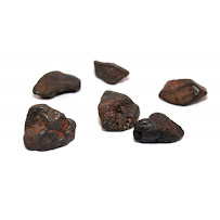 Chumpi stones Meteorite 7 pieces without carved