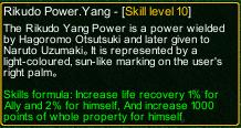 naruto castle defense 6.2 naruto Rikudo Power.Yang detail