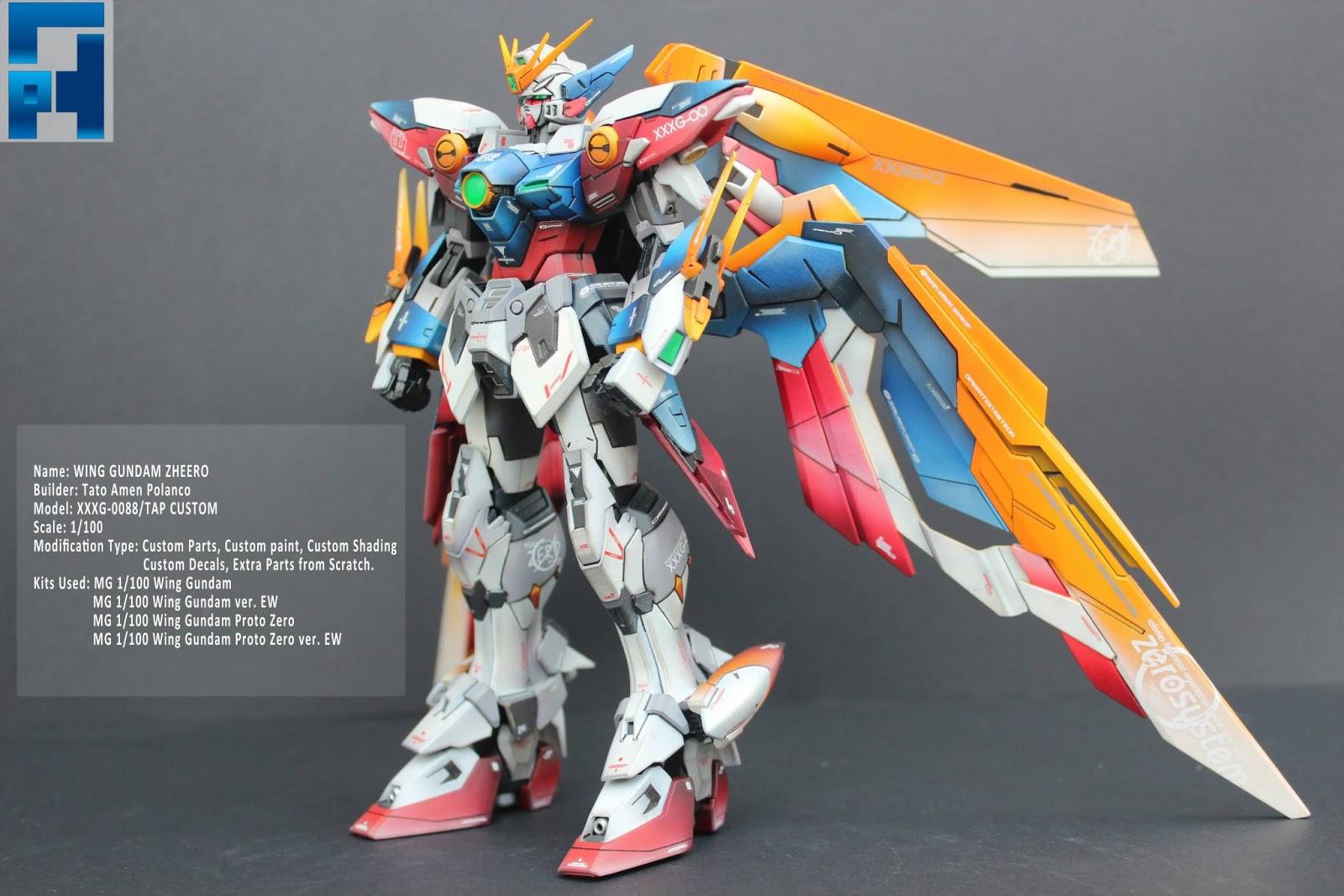 Bandai Hobby MG Wing Gundam Proto Zero Version EW Model Kit