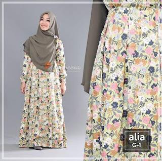 Gamis Yasmeera Alia Dress G1
