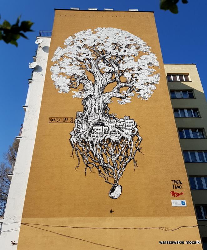 Warszawskie mozaiki murale warszawskie for Mural ursynow