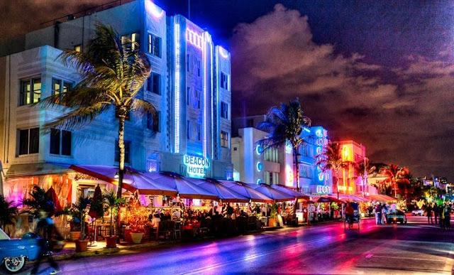 O que fazer em Miami Beach - Ocean Drive