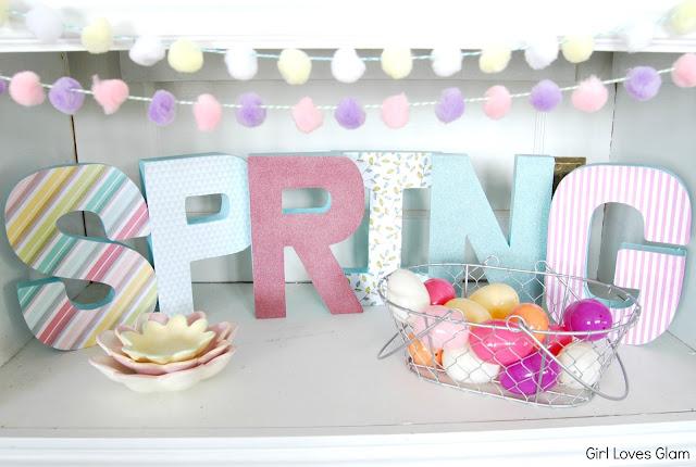 #diy #tutorial #spring #easter #decor