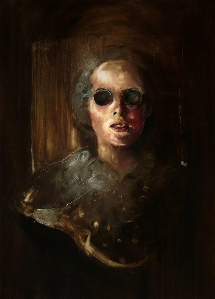 Портреты людей, которые может не сохранить память. Andrei Varga