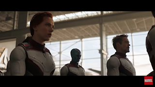 Tony Stark, Tony is Alive, Natasha, Nebula, Quantum Suit, Avengers End Game