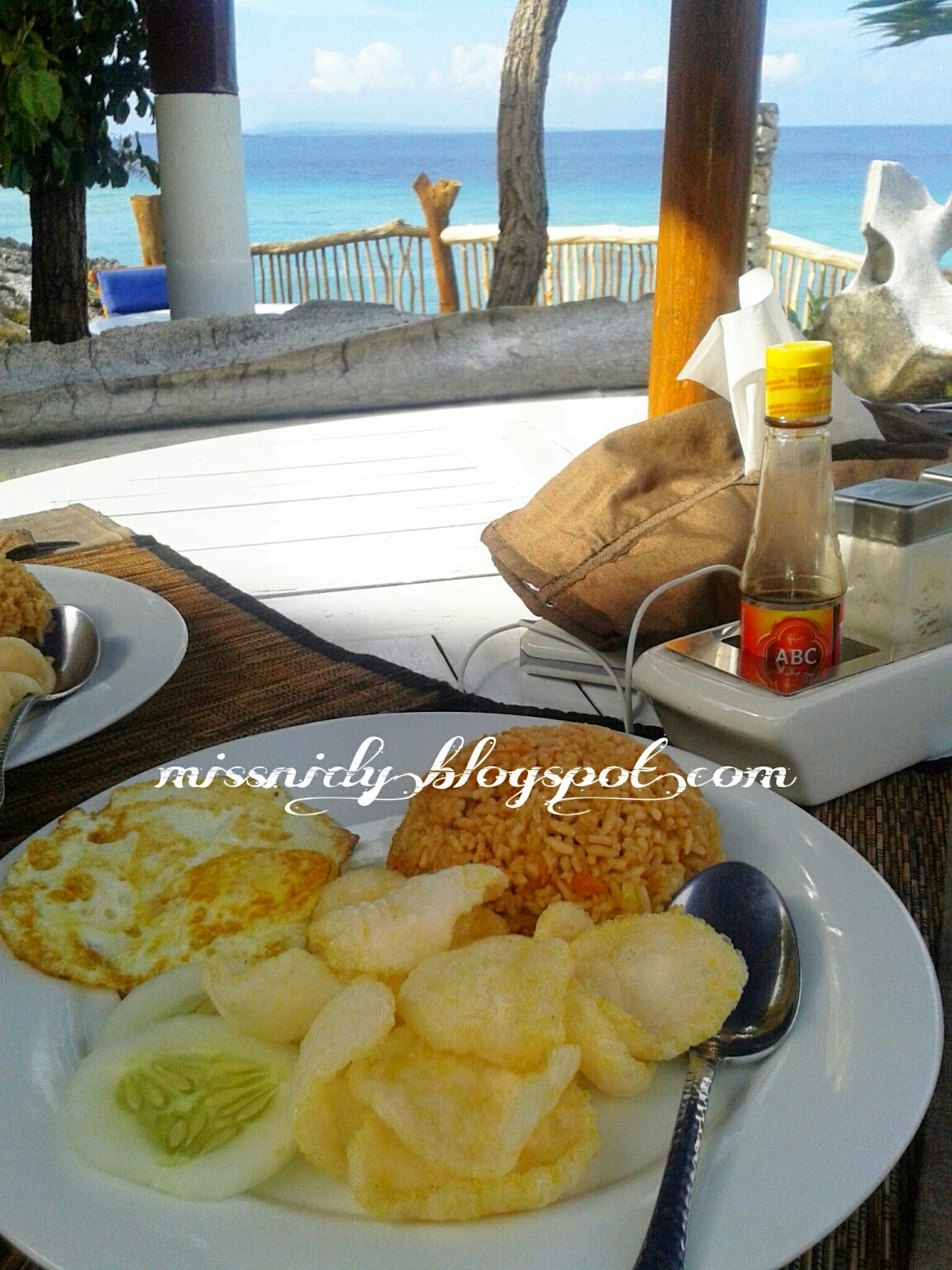 sarapan di amatoa resort