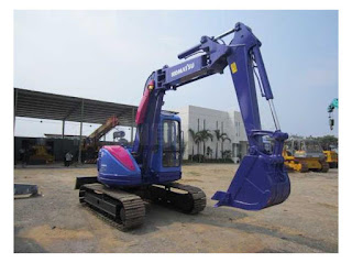 Rental Excavator Komatsu PC75 Surabaya
