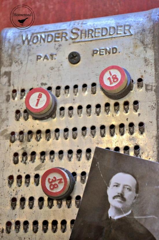 Vintage Grater Magnet Board