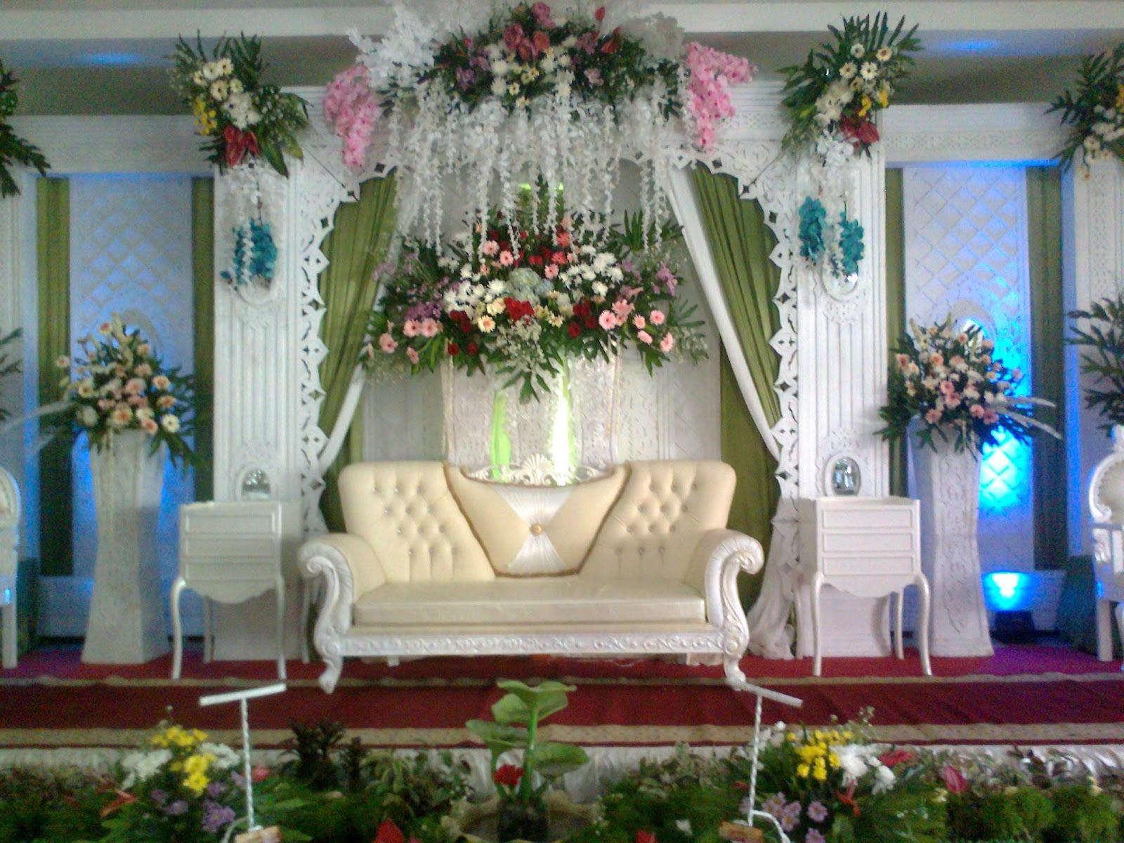 paket wedding dekorasi tenda