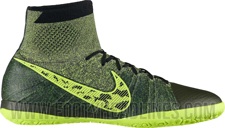 fdd58e9c136 Grey   Volt Nike Elastico Superfly 14-15 Boot Unveiled - Footy Headlines
