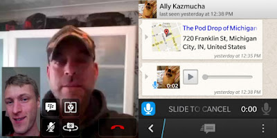 bbm video and voice chat